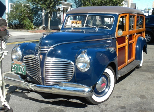 1941 Plymouth Deluxe Woody
