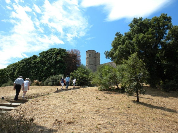 March on the Castle Ruins in Grimaud