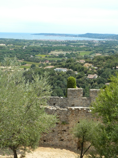 Looking back towards Cavalaire