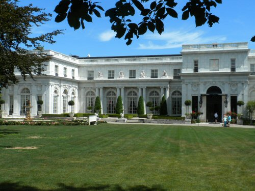 The Facade of Rosecliff