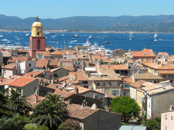 The Bay of St Tropez