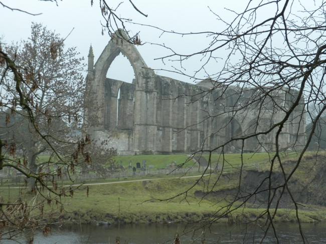 Spooky View of Bolton Abbey