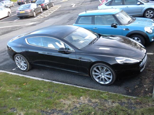 Aston Martn Rapide Front