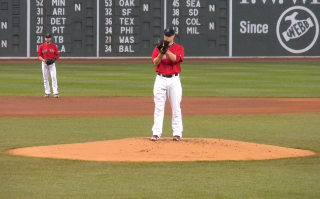 Jon Lester on the Mound