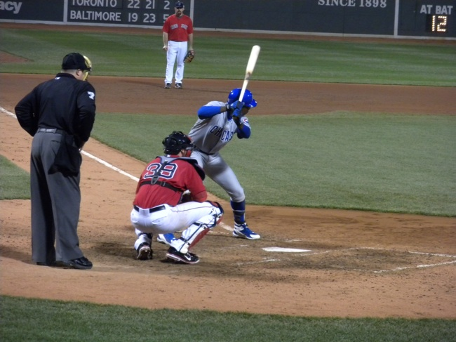 Soriano at bat